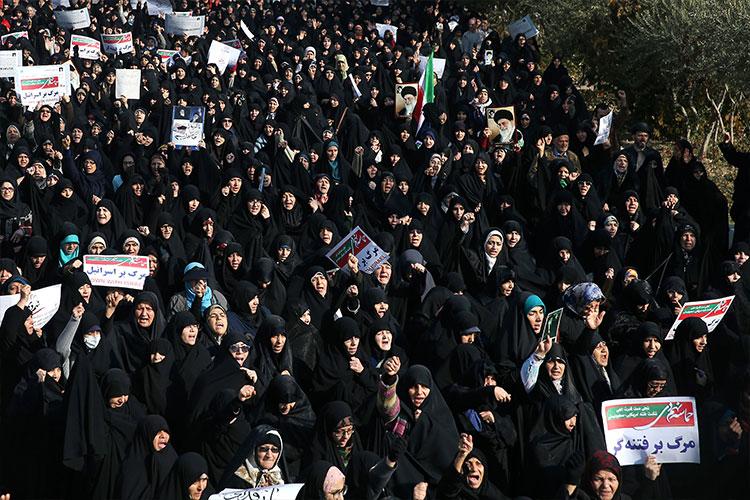 Manifestación en Teherán pese a la advertencia del Gobierno iraní